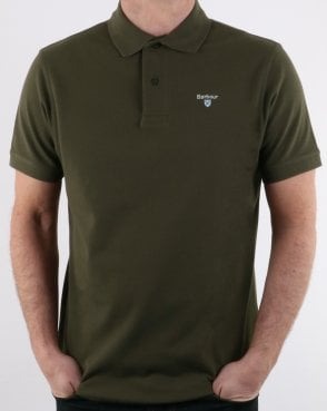 Barbour Polo Shirt Olive