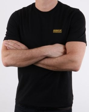 Barbour Small Logo Tee Black