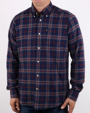 Barbour Stapleton Seth Shirt Grey Marl