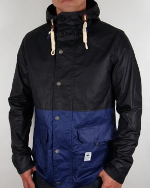 Bellfield Block Colour Fisherman Jacket Dark Navy/Royal