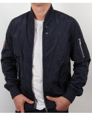 Bellfield Bomber Jacket Navy