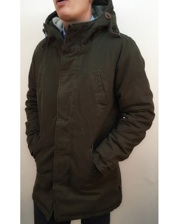 Bellfield Bres Jacket Khaki Green