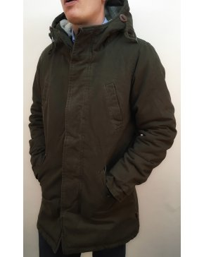 Bellfield Bres Jacket Khaki Green