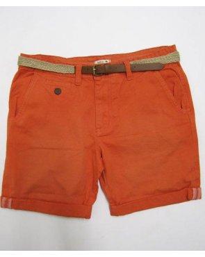 Bellfield Chino Shorts Coral
