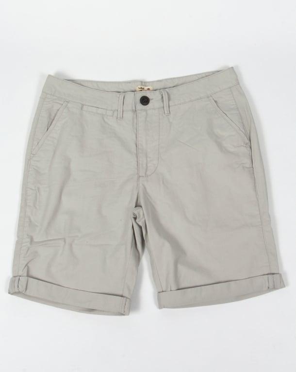 Bellfield Chino Shorts Light Grey