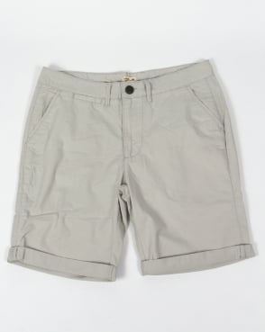 Bellfield Chino Shorts Light Grey