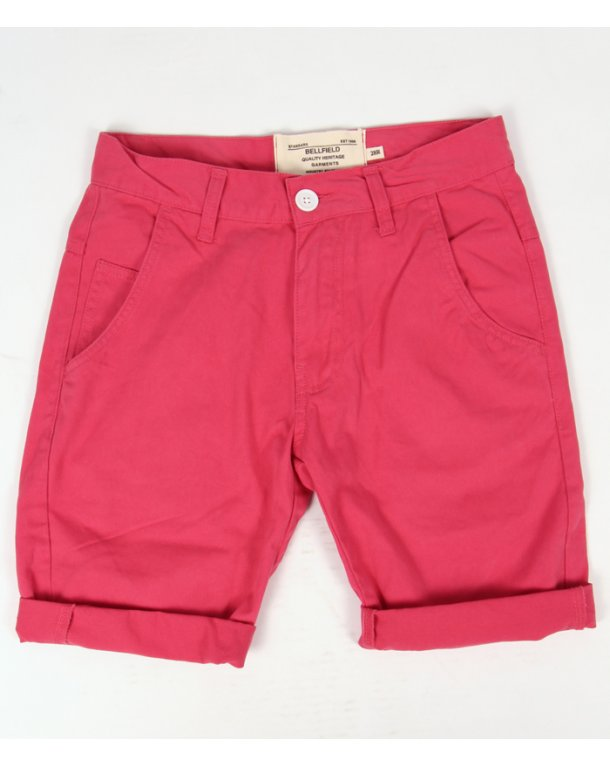 Bellfield Chino Shorts Pink