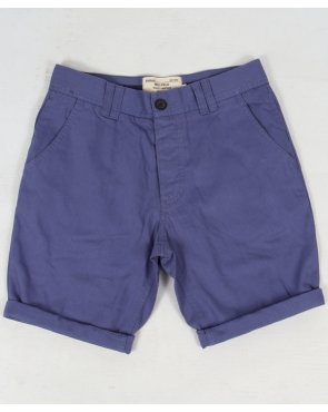 Bellfield Chino Shorts Washed Blue