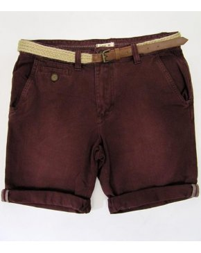Bellfield Chino Shorts Wine