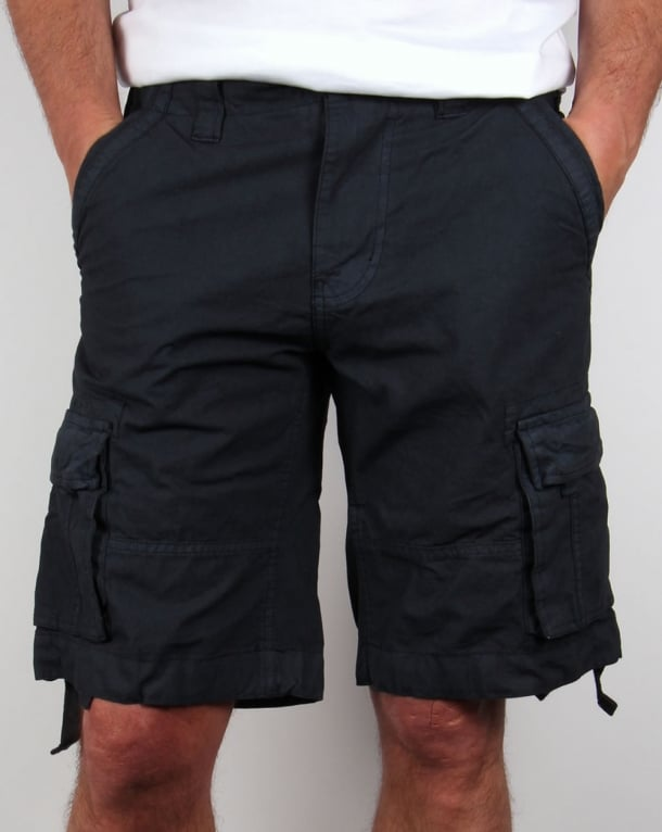 Bellfield Combat Shorts Navy