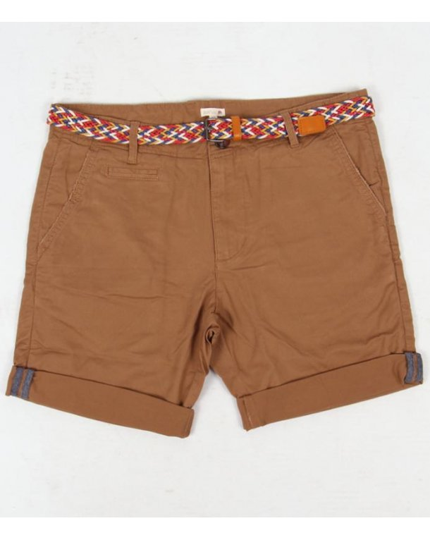 Bellfield Hemmingway Chino Shorts Tan