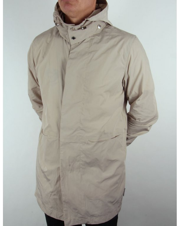 Discount Authentic Mac with Detachable Hood - Grey Bellfield Free Shipping Eastbay On Hot Sale Iz5oP