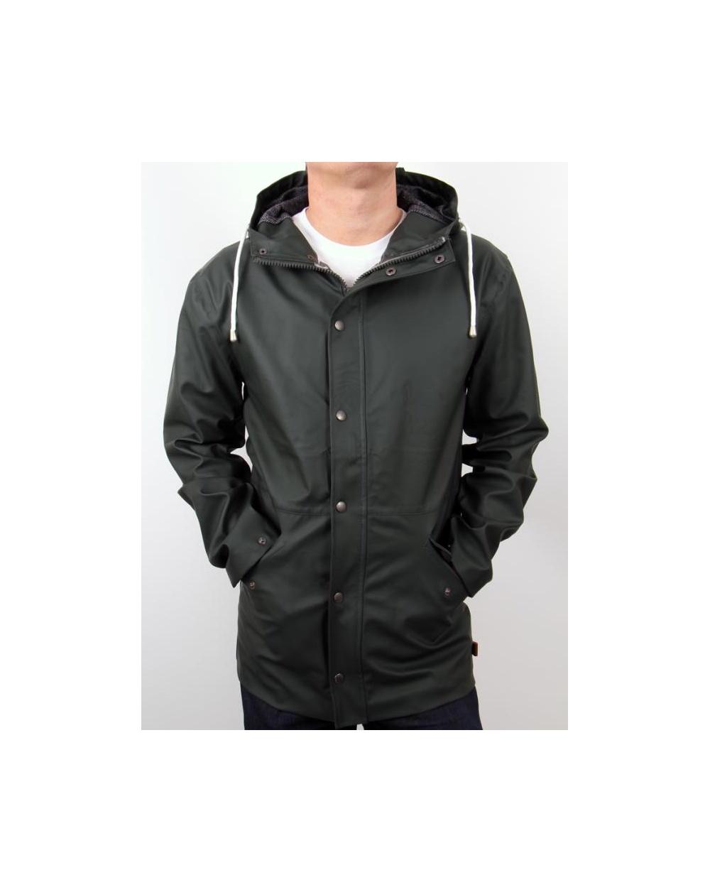 bellfield nikel jacket khaki green bellfield jacket with hood. Black Bedroom Furniture Sets. Home Design Ideas