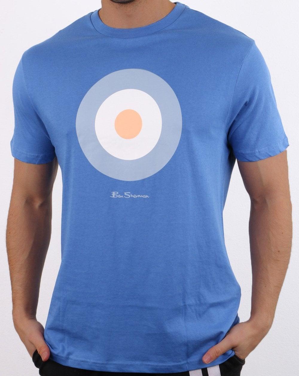 software Correspondiente a Departamento  Ben Sherman Target T Shirt in Blue | 80s Casual Classics