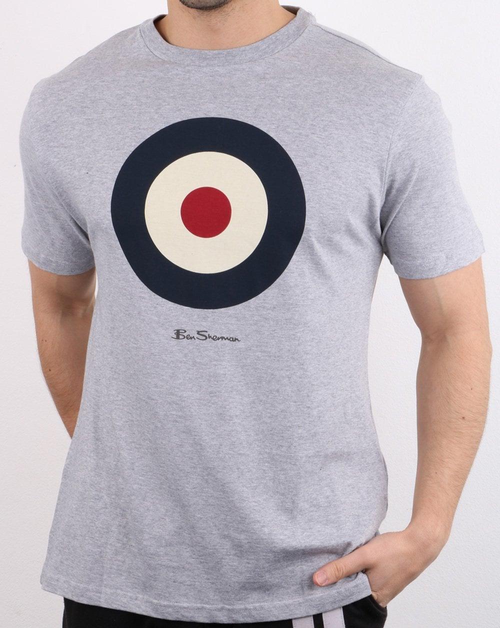 procedimiento Sospechar Sinceramente  Ben Sherman Target T Shirt in Grey | 80s Casual Classics