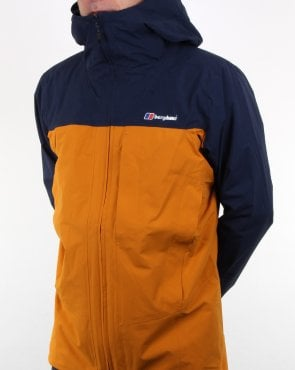 Berghaus Chombu Jacket Dark Yellow/Dark Blue
