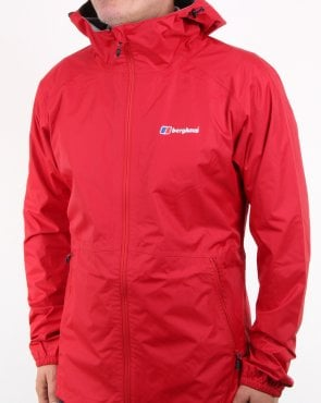 Berghaus Deluge Light Jacket Haute Red