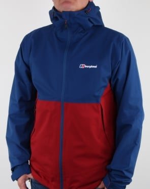 Berghaus Fellmaster Gore-Tex Shell Jacket Red Dahlia/deep Water