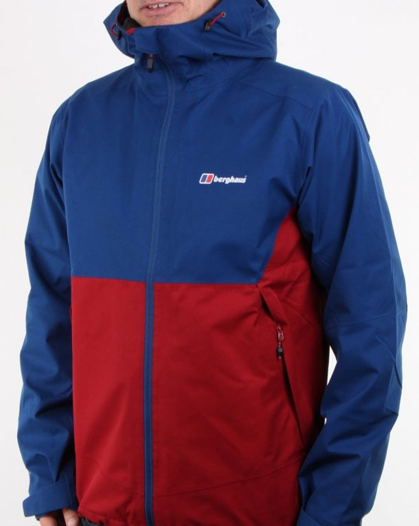 Berghaus Fellmaster Jacket Red Dahlia/Deep Water
