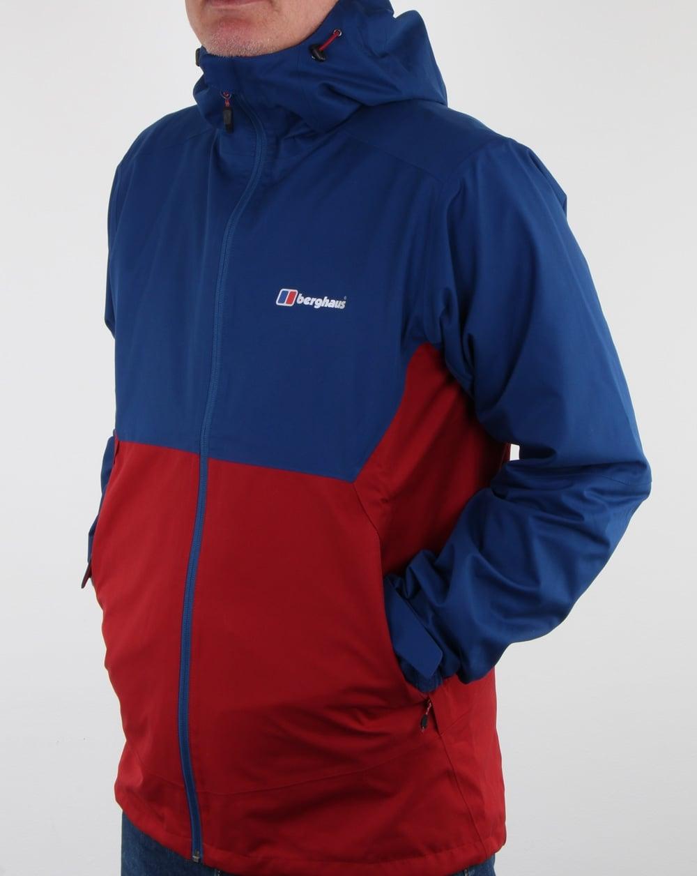 96276ff62 Berghaus Fellmaster Shell Jacket Red Dahlia/Blue | 80s casual classics