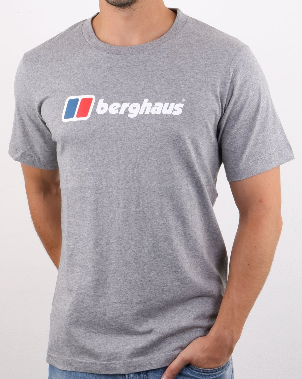 T-Shirt Uomo Berghaus Big Corp Logo Short Sleeve