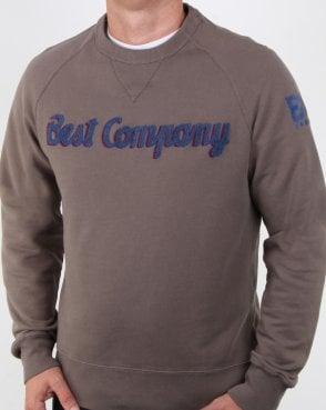 Best Company Crew Sweat Military Green