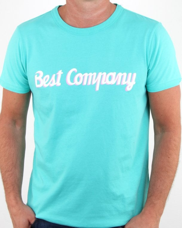 Best Company T-shirt Aqua Blue