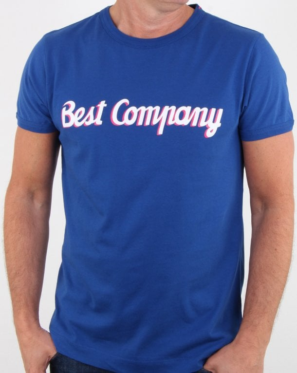 Best Company T-shirt Ink Blue