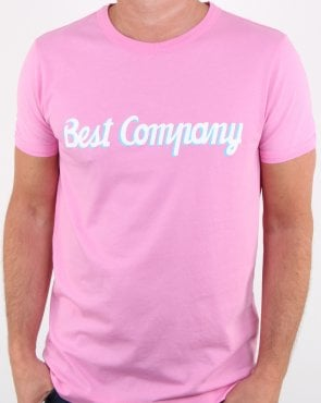 Best Company T-shirt Pink