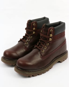 Caterpillar Colorado Boots Burgundy