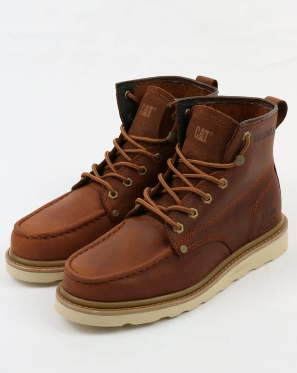 Caterpillar Glenrock Mid Boots Brown