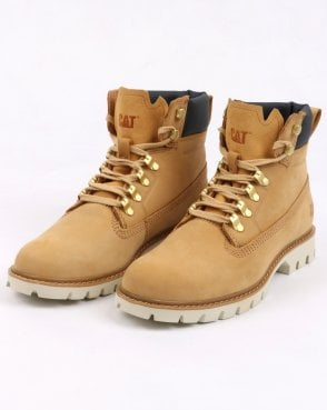 Caterpillar Lexicon Boots Honey Reset