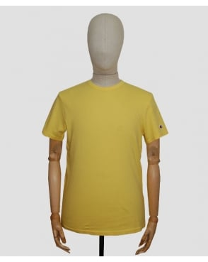 Champion Garment Dyed T-shirt Yellow