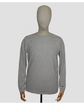 Champion Long Sleeve T-shirt Light Grey