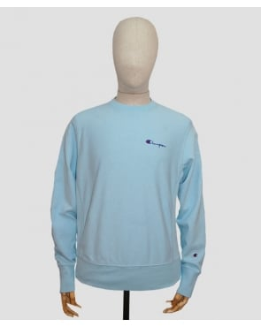 Champion Reverse Weave Sweatshirt Sky Blue