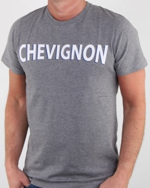 Chevignon Marcel T Shirt Grey Marl