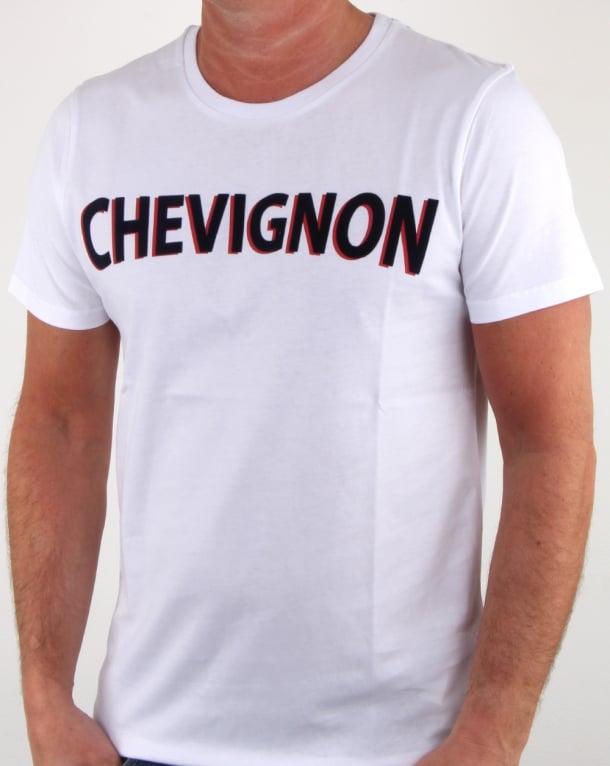 Chevignon Marcel T Shirt White