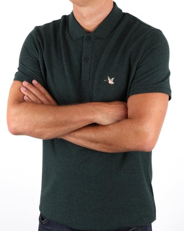 Chevignon O-togs Polo Shirt Dark Green Marl