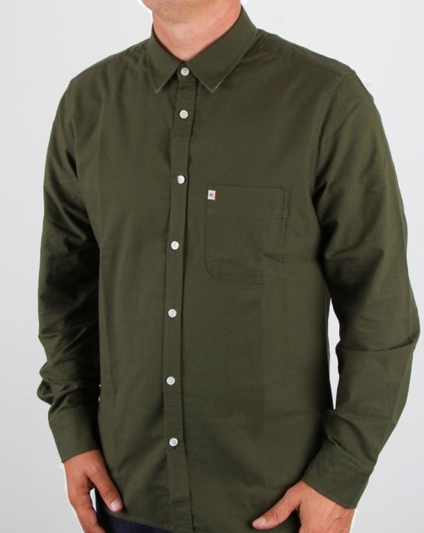 Chevignon Oxford Togs Shirt Forest Green