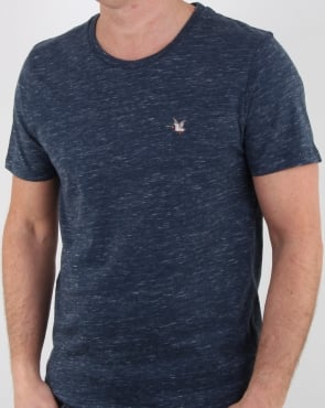 Chevignon T-togs T Shirt Navy Chine
