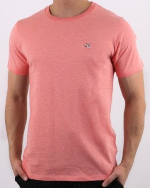 Chevignon T-togs T Shirt Rose Coral Chine