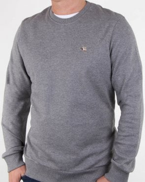 Chevignon Tooside Crew Sweatshirt Grey Chine