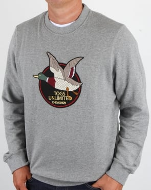 Chevignon Unlimited Sweatshirt Grey Marl