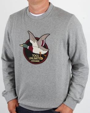 Chevignon Unlimited Sweatshirt Grey Marl