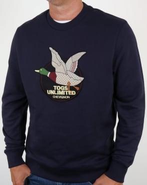 Chevignon Unlimited Sweatshirt Navy