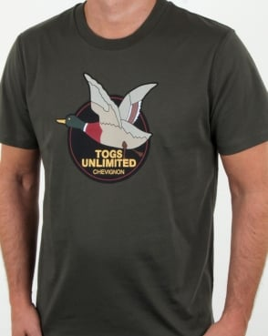 Chevignon Unlimited T Shirt Forest Green