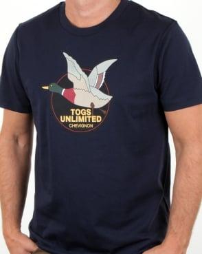Chevignon Unlimited T Shirt Navy