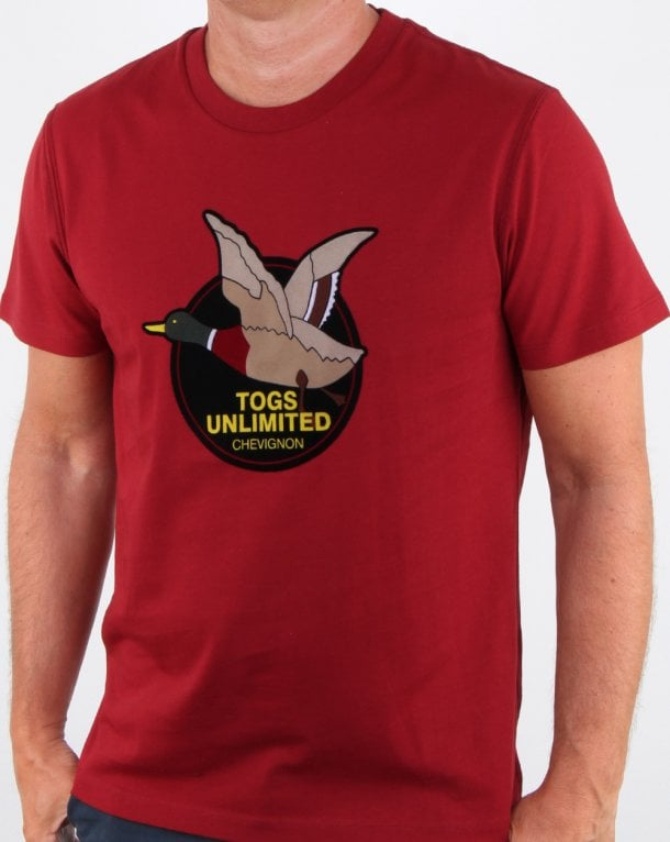 Chevignon Unlimited T-shirt Red