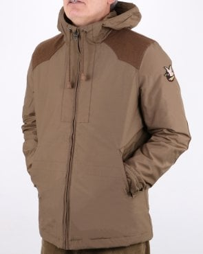 Chevignon Winter Lined Lake Jacket Mocca