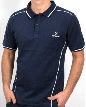 Circa 81 Champion Polo Shirt Navy